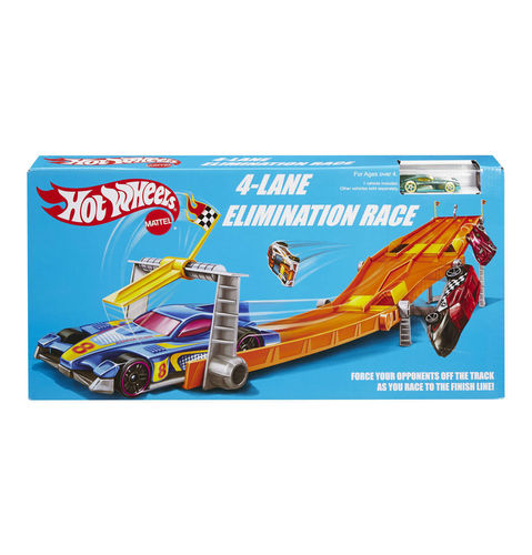 Mattel - HOT WHEELS - 4-Lane Elimination Race - 4-Spuren Highspeed-Rennen